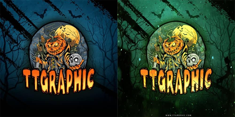 لوگوی هالووین,دانلود لوگوی هالووین